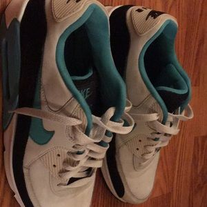 Nike air max 90 light bone sport turquoise size 11